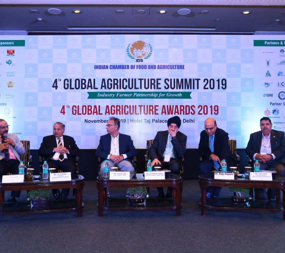 4th Global Agriculture Summit Nov. 2019 ICFA Event